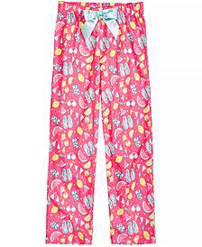 Max & Olivia Printed Pajama Pants, Little Girls & Big Girls, Created for Macy's