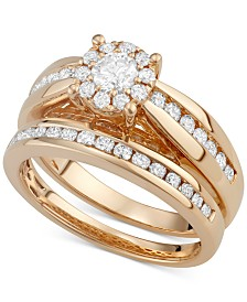 Diamond Ring Set in 14k Gold (1-1/3 ct. t.w.)