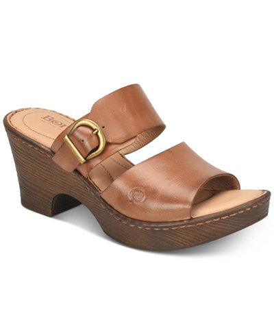Born Carrabelle Wedge Sandals