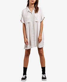 Volcom Juniors' Sun Punch Shirtdress