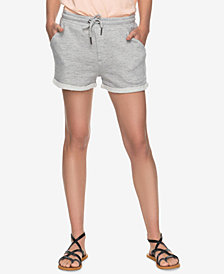 Roxy Juniors' Trippin French Terry Soft Shorts