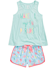 Max & Olivia Pajama Tops, Shorts & Pants, Little & Big Girls, Created for Macy's
