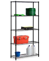 "Honey Can Do 5 Tier 72"" Storage Shelf"