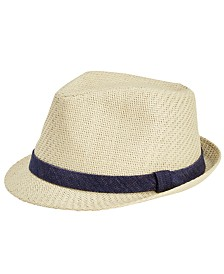 Levi's® Men's Fitted Straw Fedora