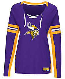Majestic Women's Minnesota Vikings Winning Style Long Sleeve T-Shirt