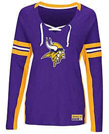 Majestic Women's Minnesota Vikings Winning Style Long Sleeve T-Shirt