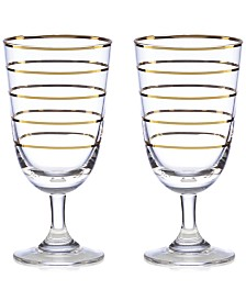 kate spade new york Melrose Avenue Wine Glasses, Set of 2