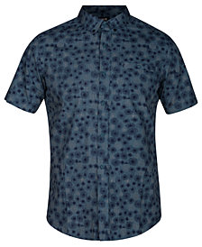 Hurley Men's Airo Medallion-Print Pocket Shirt
