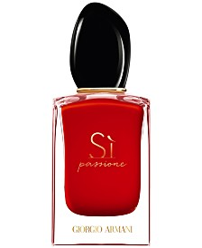 Giorgio Armani Si Passione Eau de Parfum Spray, 1.7-oz.