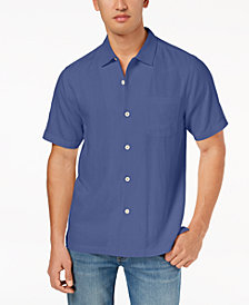 Tommy Bahama Men's Weekend Tropics Silk Shirt, Created for Macy's