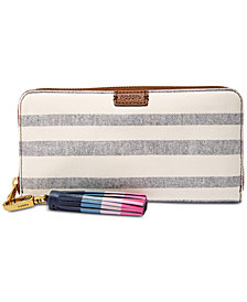 Fossil Emma RFID Large Zip-Around Phone Wallet
