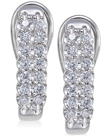 Diamond Hoop Earrings (1/2 ct. t.w.)