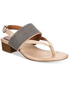 Style & Co Marxie Block-Heel Sandals, Created For Macy's