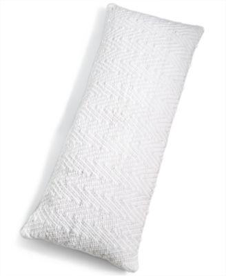 "CLOSEOUT! Chevron Lumbar 16"" x 40"" Decorative Pillow, Created for Macy's"