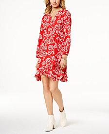 I.N.C. Ruffled Empire-Waist Dress, Created for Macy's