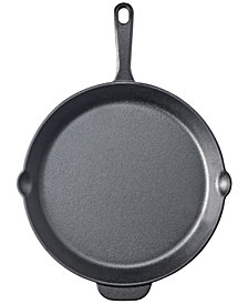 "Martha Stewart Essentials 12"" Cast Iron Skillet, Created for Macy's"