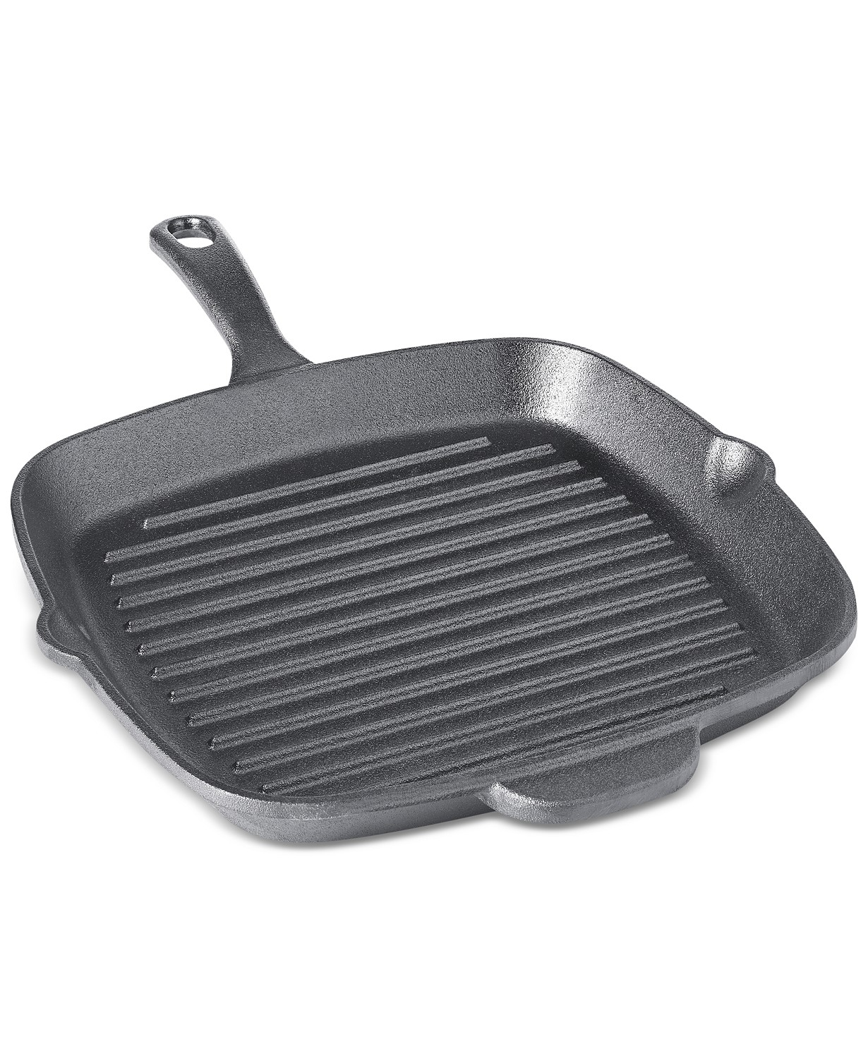 "Martha Stewart Essentials 10"" Grill Pan (Black)"