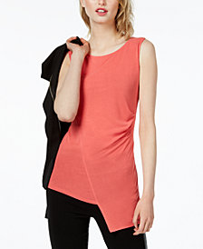 Bar III Ruched Envelope Top, Created for Macy's