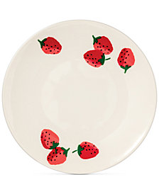 kate spade new york Strawberries Melamine Accent/Salad Plate