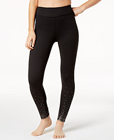 Gaiam Dotty Fade Metallic-Print Leggings