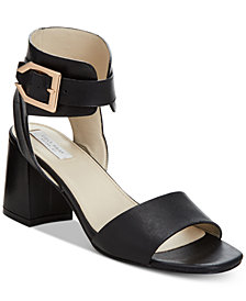 Cole Haan Avani Block-Heel Sandals, Created for Macy's
