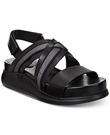 Cole Haan Zerogrand Chris Cross Wedge Sandals