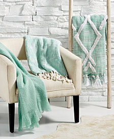 Lacourte Seafoam Throw Collection, Created for Macy's