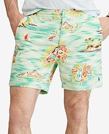 "Polo Ralph Lauren Men's Classic Fit Island Print Prepster 6"" Shorts"