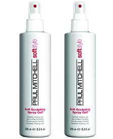 Paul Mitchell Soft Sculpting Spray Gel Duo (Two Items), 8.5-oz., from PUREBEAUTY Salon & Spa