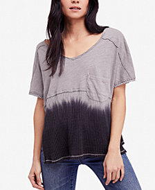 Free People Sun Dial Dip-Dye T-Shirt