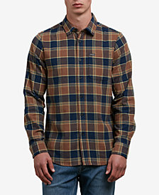 Volcom Men's Yarn Dyed Flannel Shirt