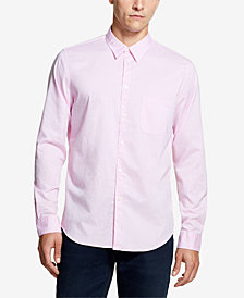 DKNY Men's Fine Twill Pocket Shirt, Created for Macy's