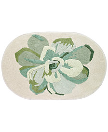 "Avanti Canyon Cotton 20"" x 30"" Tufted Floral Bath Rug"