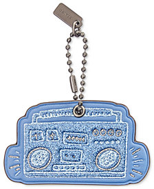 COACH Keith Haring Boombox Hangtag