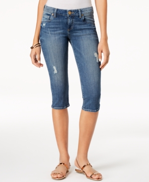 Kut from the Kloth Natalie Ripped Cropped Jeans