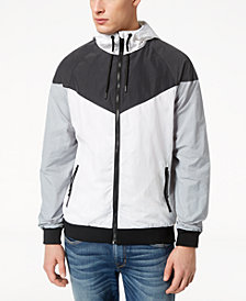 Univibe Men's Colorblocked Windbreaker