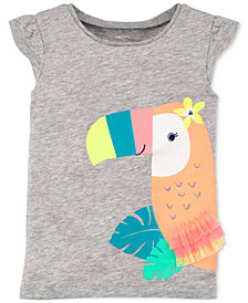 Carter's Cotton Toucan T-Shirt, Toddler Girls