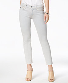 Hudson Jeans Tally Mid-Rise Skinny Cropped Jeans
