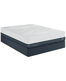 "MacyBed Lux Greenbriar 12"" Plush Euro Top Memory Foam Mattress - California King, Created for Macy's"