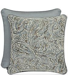 """J Queen New York Giovani 20"""" Square Decorative Pillow"""