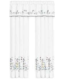 Piper & Wright Betsy White Window Drapery Pair