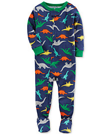Carter's 1-Pc. Dino-Printed Cotton Pajamas, Baby Boys