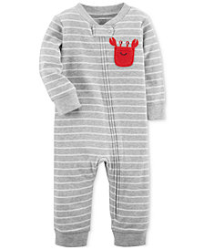 Carter's 1-Pc. Cotton Coverall, Baby Boys