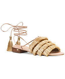 MICHAEL Michael Kors Gallagher Lace-Up Sandals