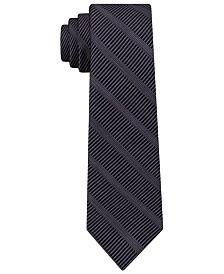 DKNY Men's Sky Line Silk Slim Tie