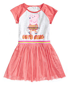 Nickelodeon's® Peppa Pig Graphic-Print Tutu Dress, Little Girls