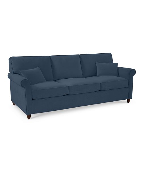 Super Furniture Lidia 82 Fabric Sofa Custom Colors Created For Machost Co Dining Chair Design Ideas Machostcouk