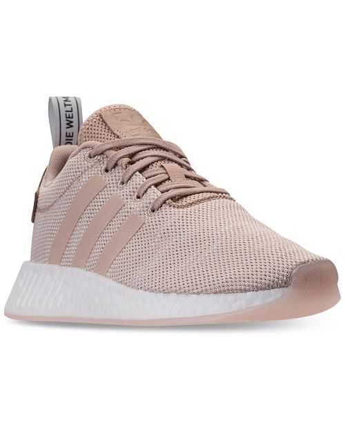 19643cfde adidas Women s NMD R2 Casual Sneakers from Finish Line   Reviews ...