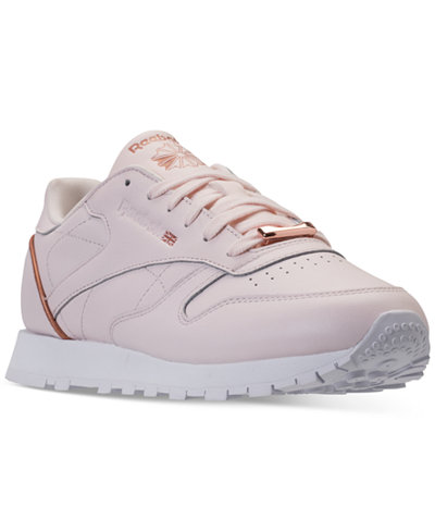 Reebok Women's Classic Leather HW Casual Sneakers from Finish Line