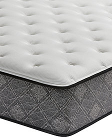 "MacyBed by Serta  Elite 13"" Plush Mattress Set - Queen, Created for Macy's with Adjustable Base"